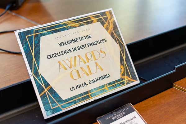 Excellence in Best Practices - Awards Gala San Diego, July 2019