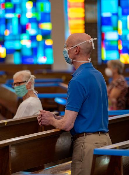 Reopen Mass - St. Margaret Church, Bel Air