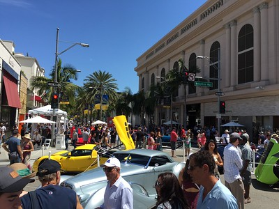 Beverly Hills Car Show