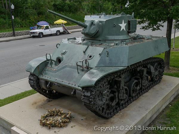 Smith Park - Chicago, IL - M3A3 Stuart
