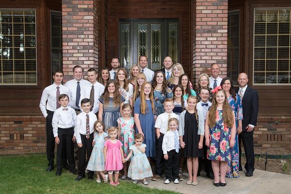 Summer 2017 Horne Family