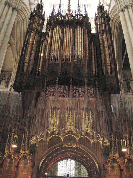 The organ, York Minster