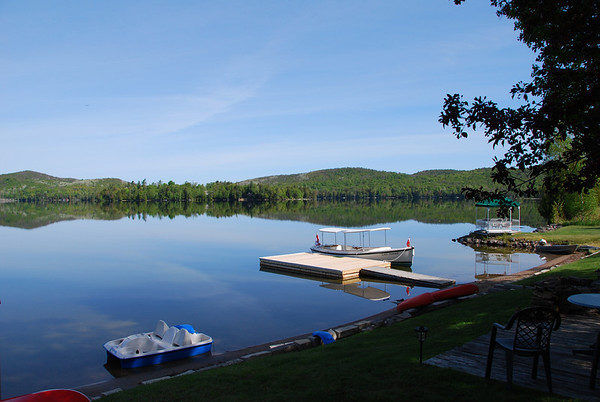 Haliburton, Ontario in May 2010
