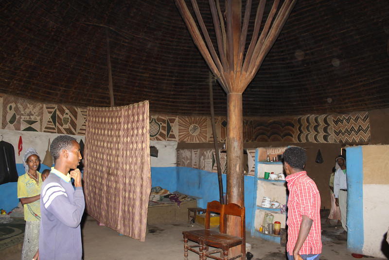 Halaba tribe house