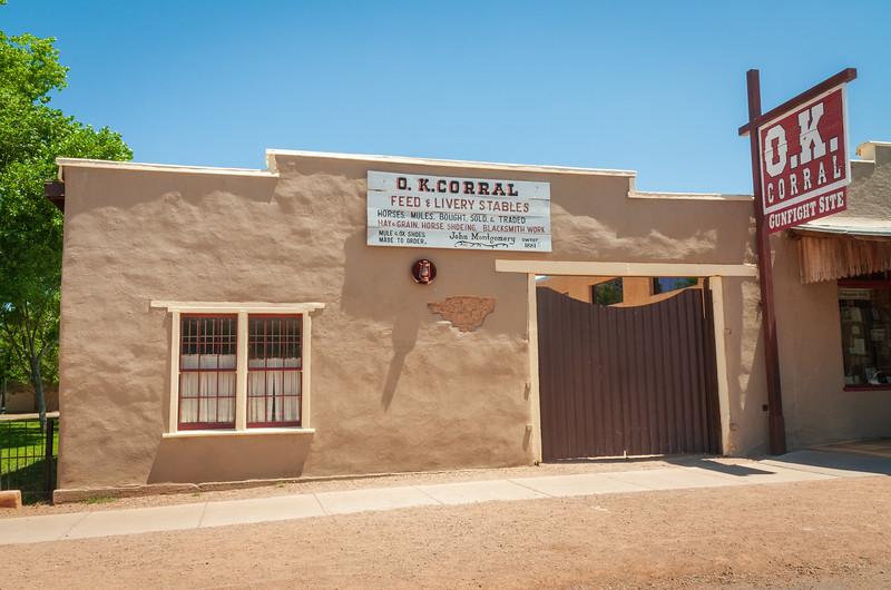 Feed Store at Tombstone, Arizona