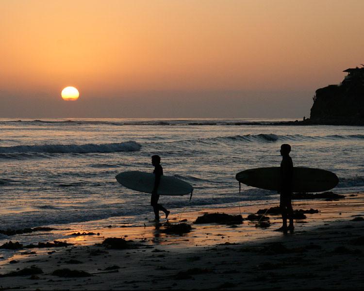 Sunset Surfers