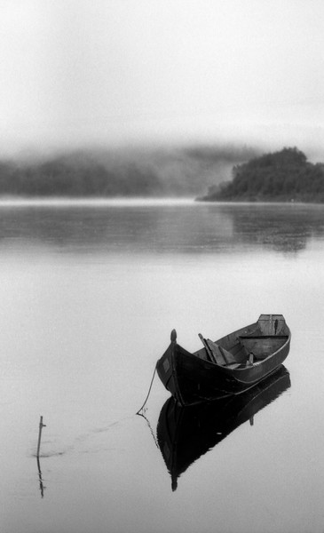 Boat - Karasjok, Norway - July 1989