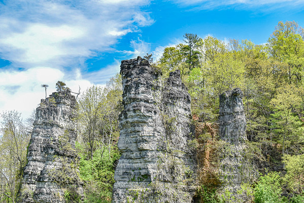 Natural Chimneys - Mt. Solon, Virginia