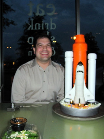 Craig's Space Shuttle Cake