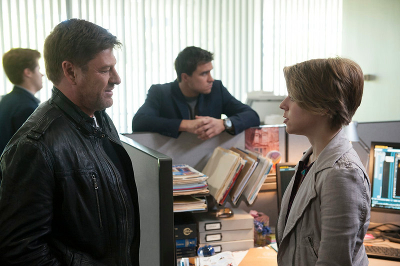 . Sean Bean and Tina Majorino in TNT\'s summer mystery drama �Legends,� about an undercover agent who may not be the person he believes himself to be. (Photo by Richard Foreman/TNT)