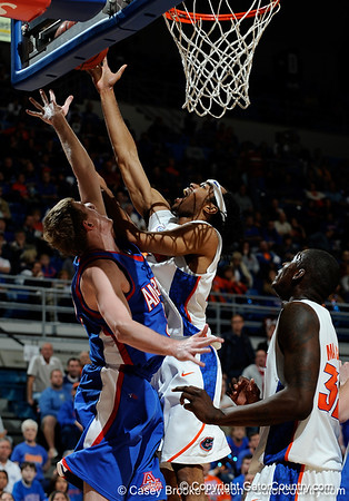 Photo Gallery: UF Men's Basketball vs. American, 12/28/09