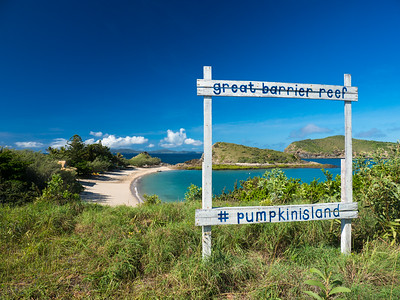Pumpkin Island Paradise