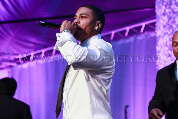 Nelly's 7th Annual Black And White Ball At The St. Louis Science Center (Banquet & Ball Gallery 2) 12-16-2012