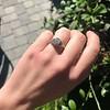 1.11ct Old European Cut Diamond Filigree Ring 26