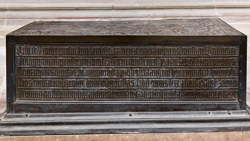 Merseburg, Dom, Tumba Bischofs Thilo von Trotha (Ende 15. Jh.)