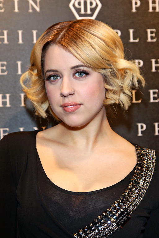 . Peaches Geldof attends the Philipp Plein fashion show as part of Milan Fashion Week Womenswear Autumn/Winter 2011 on February 26, 2011 in Milan, Italy.  (Photo by Vittorio Zunino Celotto/Getty Images for Getty)