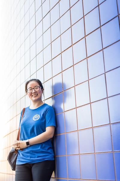 TAMU-CC international student Xiaotian Tang (Zoe)