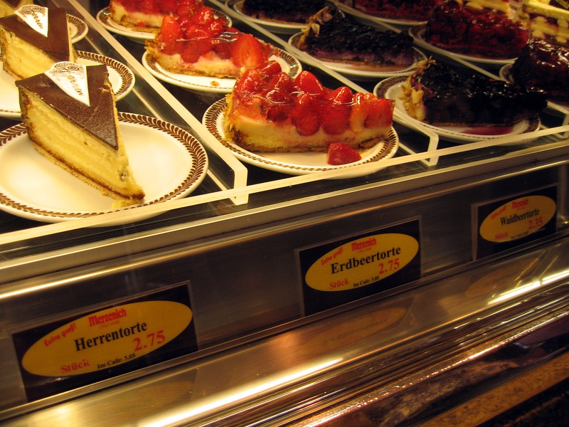 Tortes in Cologne, Germany