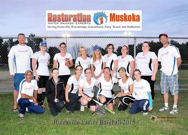 Huntsville Ladies Baseball 2015