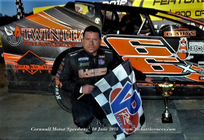 Cornwall Motor Speedway - 6/10/18 - Rick Young