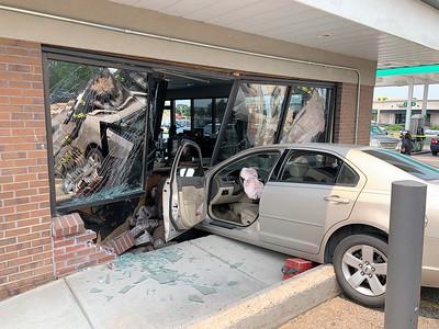 Car vs. Building - Arapahoe and Peoria