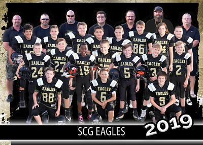 2019 11/12 SCG Eagles Football Team