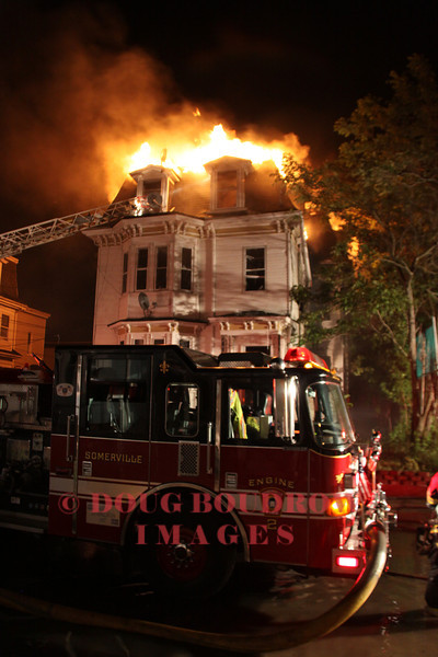 Somerville, MA - 2nd Alarm, 36 Rush Street, 5-29-11