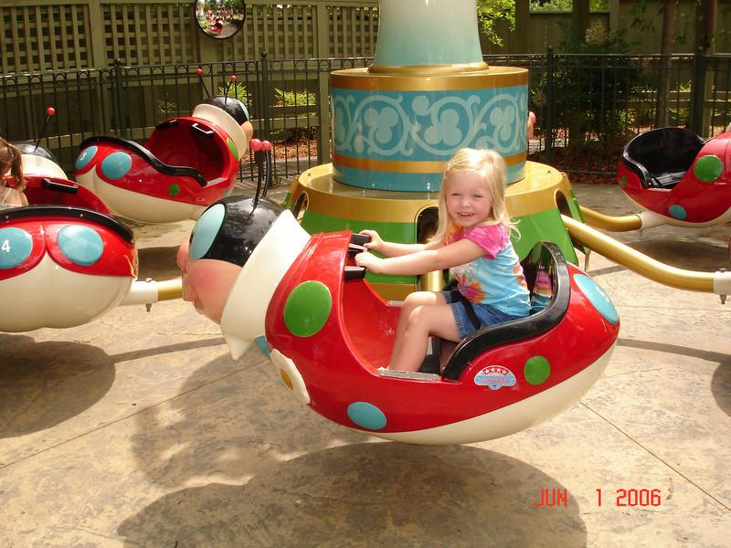 Callie's 4th birthday @ Little Gym 06