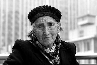 China: people in Chengdu