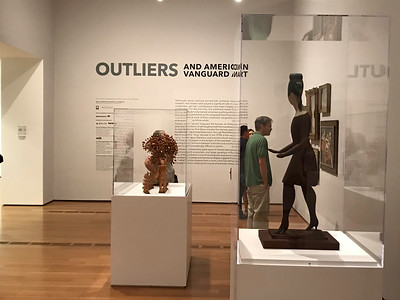 Outliers- the un-taught artists at the High Museum/Atlanta