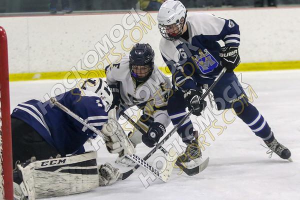 Foxboro-Mashpee/Monomoy Boys Hockey - 02-25-19