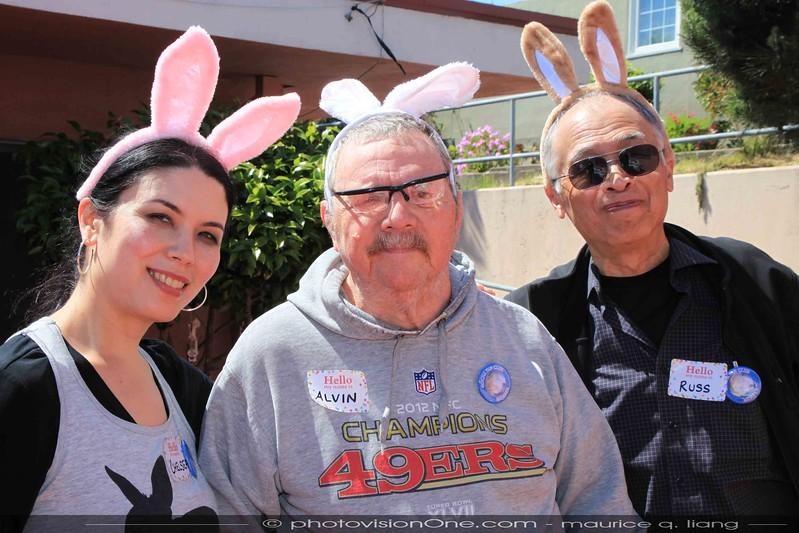 """The """"Three Rabbitears""""."""