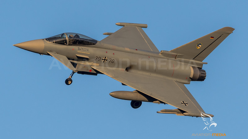 Luftwaffe TLG 74 / Eurofighter Typhoon / 30+70