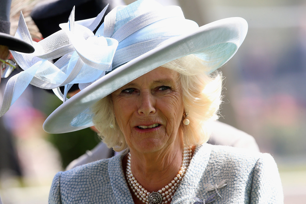 . Camilla, Duchess of Cornwall attends day one of Royal Ascot at Ascot Racecourse on June 17, 2014 in Ascot, England.  (Photo by Chris Jackson/Getty Images for Ascot Racecourse)