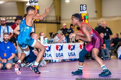 58 - Johnson def Parrish - Greco Finals - 2017 UWW Cadet