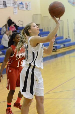 JV Girls Basketball Feb 13 vs Edgewood