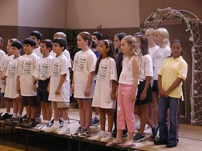Church School VCS - August 1, 2003