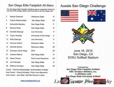Game 1 - Aussie Spirit at Storm USA