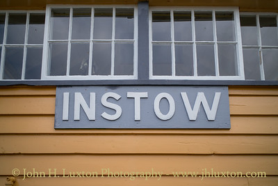 Instow Station and Signal Box