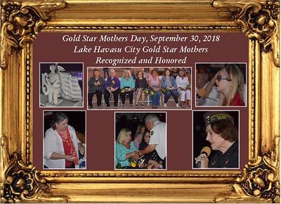 9-30-18 Gold Star Mothers at Wheeler Park