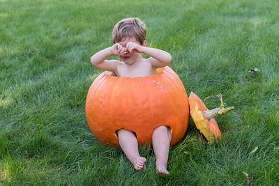 Pumpkin Pants II