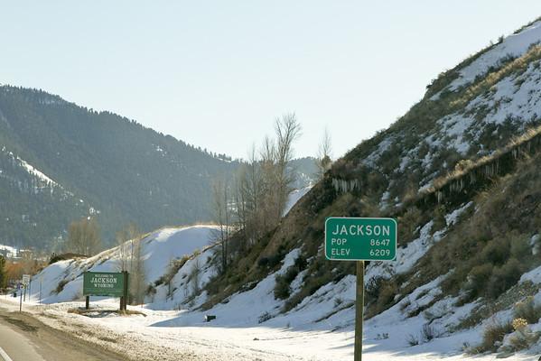 Jackson, WY Scenes