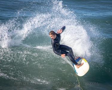 San Elijo State Beach Surfing