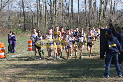 1.6 Miles, D1 Boys - 2012 MHSAA LP XC Finals