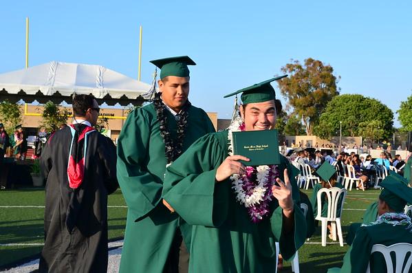 2016 Costa Mesa High School Graduation