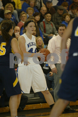 Montague / North Muskegon Girls Basketball 01/07/2011