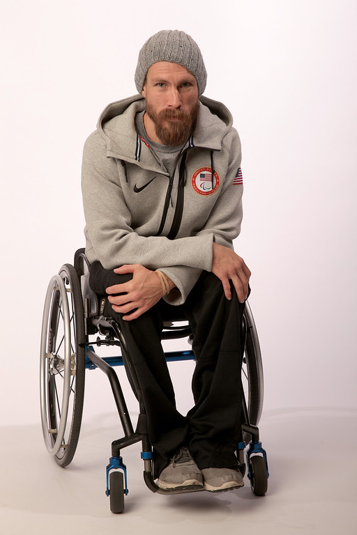. Para-Nordic Skier Jeremy Wagner poses for a portrait during the USOC Media Summit ahead of the Sochi 2014 Winter Olympics on October 1, 2013 in Park City, Utah.  (Photo by Doug Pensinger/Getty Images)
