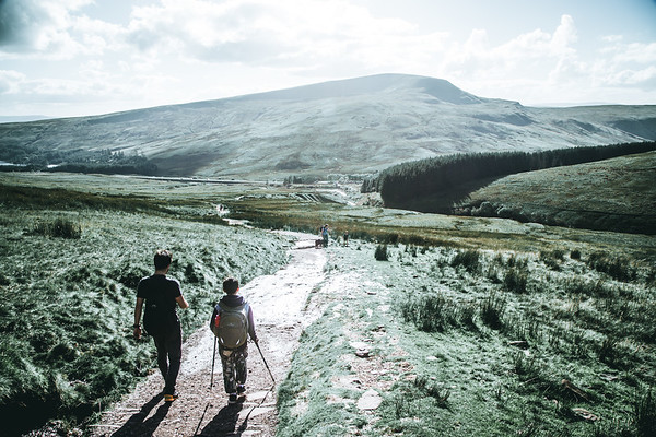Hiking Brecon