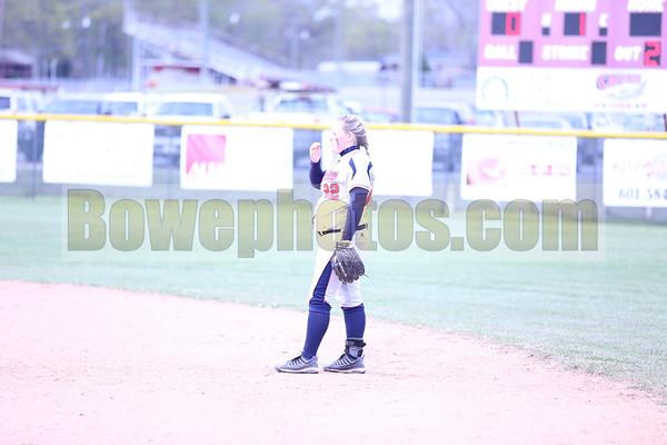 West Jones at South Jones (2013 softball)