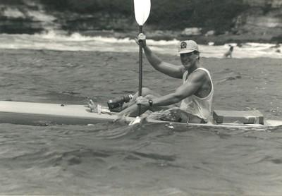 10th Annual Kanaka Ikaika Molokai to Oahu Kayak Race 5-18-1986